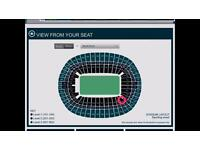 Adele 2nd July Wembley 2 tickets MAKE ME AN OFFER **lowest tier seating** BEST SEATING AREA