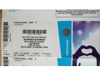 Django Django Tickets Printworks | London