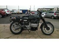bmw k75 c scrambler/rat bike/cafe racer