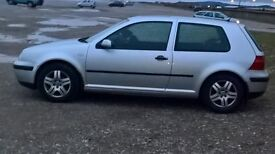 vw golf 1.4s 2002 model 3 door