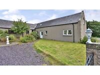 Two bedroom converted steading with beautiful country views