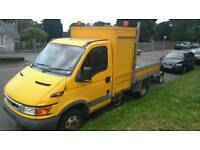 Tipper body off 05 Iveco daily