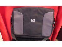 Large Laptop Messenger Shoulder Bag Black Mens Used
