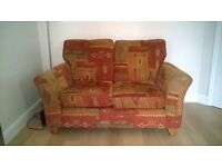2 fabric sofas for sale