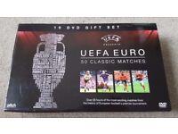 ** NEW SEALED ** 10 DVD UEFA EURO 50 CLASSIC MATCHES