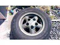 Landrover wheels & tyres. Reduced.