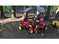 2 Little Tikes 3 in 1 Trikes for sale