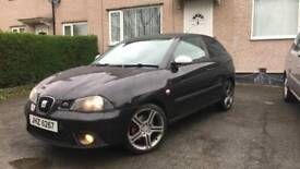 Seat Ibiza Fr Pd130 1.9Tdi FACELIFT 2007 FSH LONG MOT remapped **CHEAP**