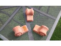 chiminea or plant pot feet stands 'hand made'