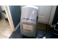 NICE DELONGHI QUATTRO PORTABLE CALOR GAS HEATER WITH BOTTLE