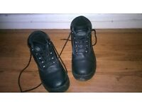 work steel toe safety boots