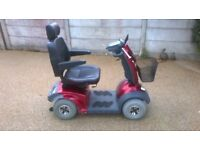 TGA mystere mobility scooter, great condition, new batteries recently, full service history