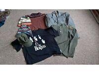 Job Lot of Men's Clothes (River Island / NEXT / Pierre Cardin / Hats).