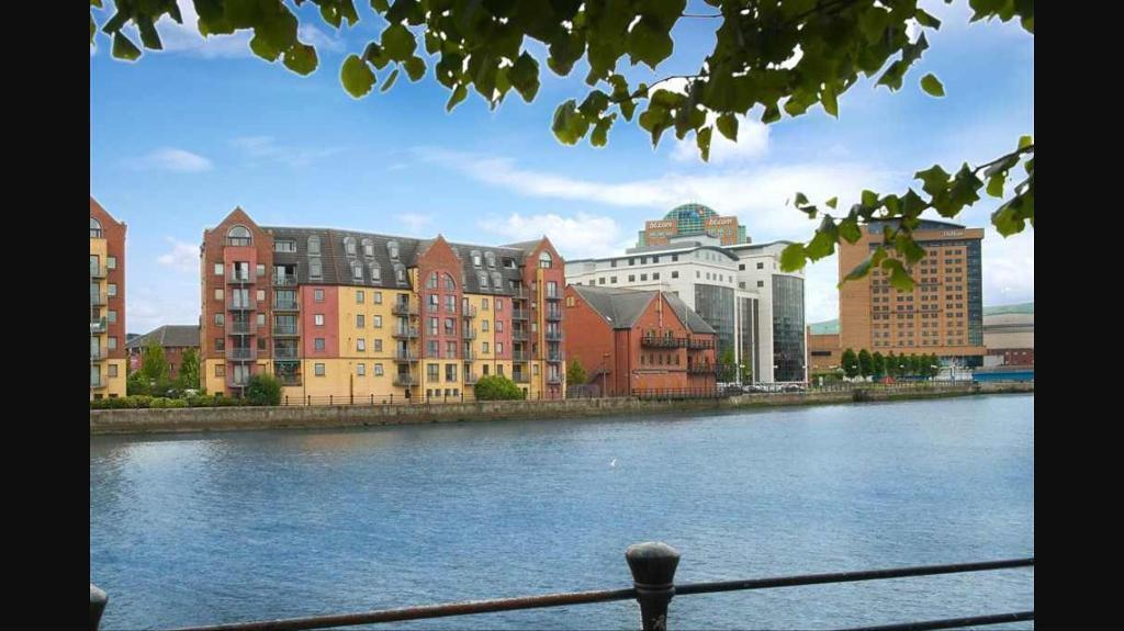 Large double room in stunning apartment in Belfast City ...