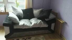 Sofa crushed velvet