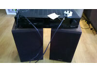Speakers plus amplifier
