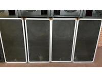 """Scoop sub bass bins 18"""" speakers pd1850 precision devices loaded"""