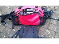 North Face MT Biker waist bag for cyclist/mountain biker
