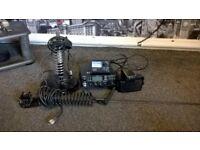 tti cb radio, swr meter 2 antennas one mag mount one gutter mount plus extension speaker