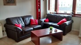 MODERN TWO BEDROOM QUIET FLAT IN GLASGOW CITY CENTRE.