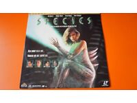 SPECIES NATASHA HENSTRIDGE DELUXE LETTERBOX EDITION MOVIE LASER DISC