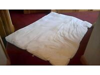 double size polyester matress topper