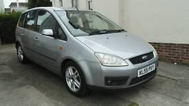 FORD C-MAX 1.6 ZETEC PETROL 5 DOOR HATCHBACK 28 DAY WARRANTY