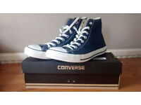 Brand new Converse trainers CONVERSE ALL STAR - NAVY - UK 9