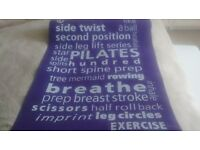Exercise mat - nearly new