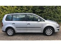 DIESEL VOLKSWAGEN TOURAN SPORT TDI 1.9L (2008) 5 door year mot, cheap tax
