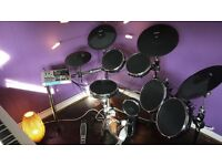 Alesis DM10X Mesh Head Digital Drum Kit For Sale + Drum Stool, Kick Pedal & Sticks