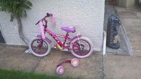 Apollo Daisychain Girls Bike Age 4-6 - 14inch