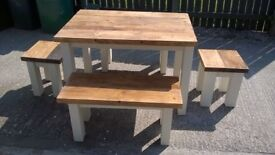 TIMBER DRESSERS,TV UNIT,BEDS,DINING/COFFEE TABLES,SIDEBOARDS,GARDEN/PATIO BENCHES FROM £49 SEE AD