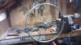 """Wheel 24"""" bicycle front"""