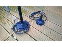 two magmount antennas for sale.........