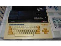 Sharp MZ 700 antique computer plus cassettes