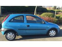 VAUXHALL CORSA CLUB 1.0L (2002) year mot 3 door