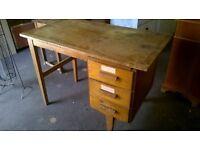 Desk, 3 drawer, project