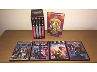 Monster High Bundle (4 books and 4 Dvd's)