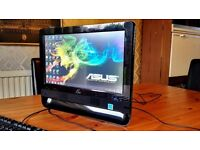ASUS ALL IN ONE TOUCH SCREEN PC + OFFICE + FAST + WEBCAM + 16 SCREEN