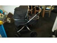 Mothercare orb stroller liquorice