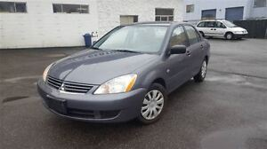 2006 Mitsubishi Lancer ES; Local & LOW KM!