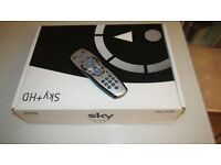 Sky + HD set top box with viewing card