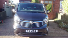 Vauxhall vivaro swb 2015 8,500miles immaculate, ply-lined.