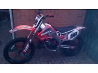Cr 125 1998 motocross