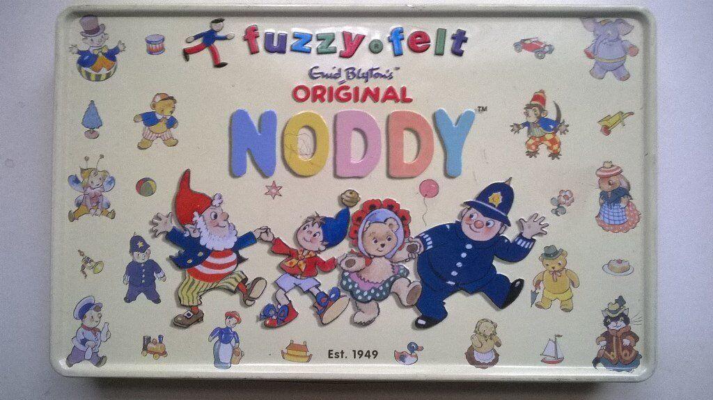 Noddy fuzzy felts