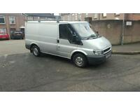 2005 ford transit full years psv only 80000miles