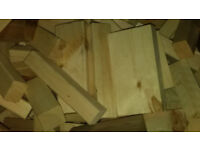 Clean Firewood - Kiln Dried Manufacturing Offcuts.