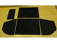 Classic Mini - Black carpet Boot Liner Rover