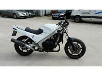 Swaps or sale vfr750 track bike full mot